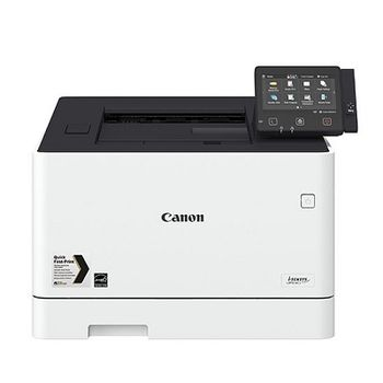 Printer Color Canon i-Sensys LBP-654CX, Duplex,Net, WiFi, A4,27ppm,1GB, 1200x1200dpi, 250+50 sheet tray, LCD CTScreen,UFRII,PCL5c*,PCL6,Adobe® PostScript, Max.50k pages per month,Cart 046HBk & 046Bk (6300/2200ppm) & 046HC/M/Y & 046C/M/Y(5000/2300ppm)