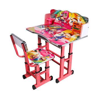 Детский столовый гарнитур со стулом 503 розовый