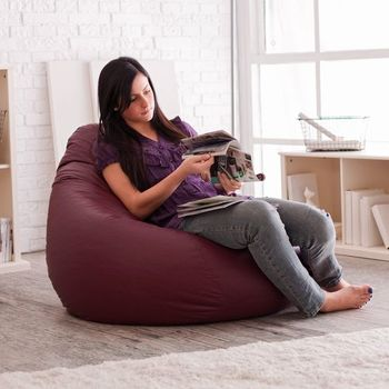 купить Кресло мешок Hi-Poly , фиолетовый в Кишинёве