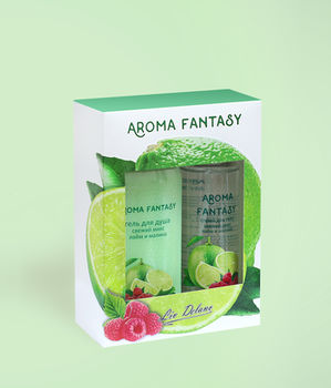 """купить Подарочный набор Aroma Fantasy """"Свежий микс: лайм и малина"""" в Кишинёве"""