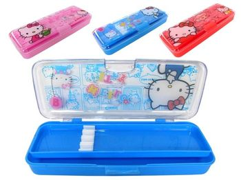 "Penar din plastic ""Hello Kitty"" 20X8X3cm, 2-ua nivele"