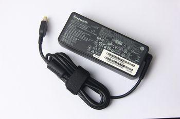 AC Adapter Charger For Lenovo 20V-4.5A (90W) Square DC Jack Original