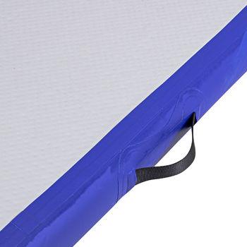 Мат гимнастический надувной 500x100x10 см inSPORTline Airstunt 21995