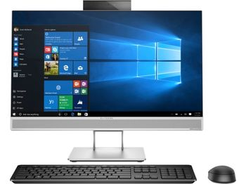 "All-in-One PC - 23.8"" HP EliteOne 800 G4 FullHD IPS +W10 Pro, Intel® Core® i5-8500 up to 4,1 GHz, 8GB DDR4 RAM, 256GB SSD, DVD-RW, CR, Intel® UHD 630 Graphics, 2Mp cam, Wi-Fi/BT5, GigaLAN, 180W PSU, Win10 Pro, USB Slim KB+MS, Silver/Black"