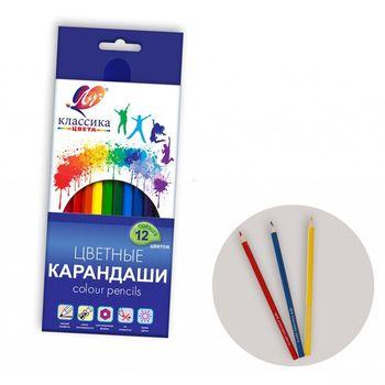 Карандаши цветные Луч Classica 12 цветов