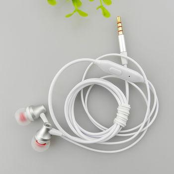 Белые наушники-гарнитура EZRA EP21