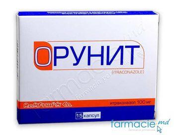 купить Орунит капс.100мг N15 (итраконазол) в Кишинёве