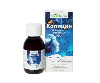 ХОЛИЦИН сироп 100 мл.