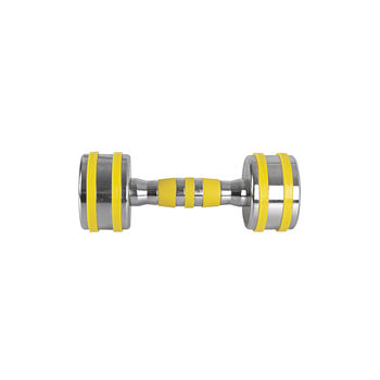 Гантель хромированная 4 кг inSPORTline Yellsteel 20834 (3662)