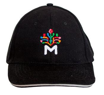 купить Кепка черная с Древом Жизни (цветной) в Кишинёве