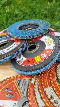 купить Лепестковый диск 125*22 ZR 40# Vector Plus Industrial/10/100 в Кишинёве
