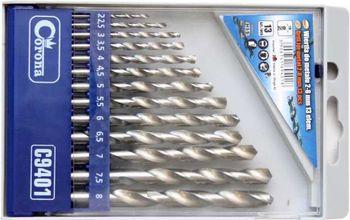 купить Набор свёрл по металлу 2-8мм (13 единиц) в Кишинёве