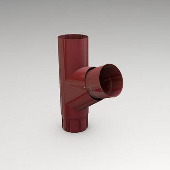 купить Тройник (87mm) RAL-3005 в Кишинёве