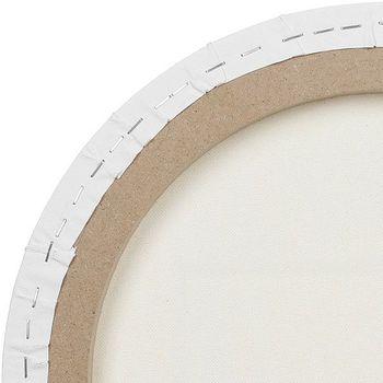 Холст на подрамнике овальный Малевичъ, хлопок 380г, диаметр 30х40см