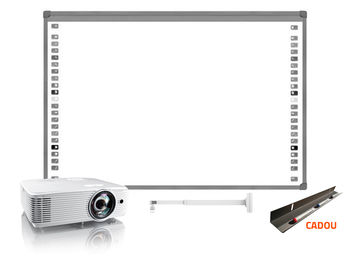 SET VIDEOPROIECTOR OPTOMA X308STE SHORT THROW+ SUPORT PROIECTOR CT-PRB-8M + TABLA Interactiva EVOBOARD IB85(language-RO) + TAVITA CADOU, inclusiv instalarea si setarea.