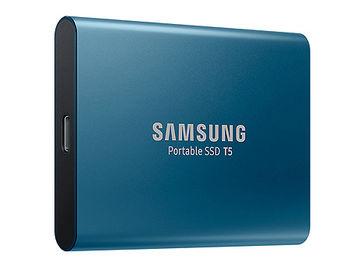 250GB Samsung Portable SSD T5 MU-PA250B/WW External SSD, Blue, Transfer speed 540 MB/s, USB 3.1/Type-C, (SSD extern/внешний SSD)