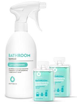 DutyBox Bathroom Комплект — Очиститель керамики и сантехники с древесным ароматом