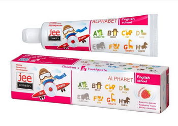 купить Зубная паста JEE COSMETICS  детская Алфавит 50 мл в Кишинёве