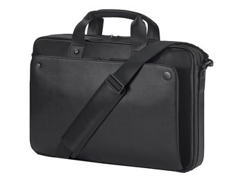 "15.6"" NB Bag - HP Exec Black Leather 15.6 Top Load"