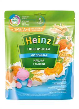 купить Каша Heinz Омега3 пшеничная с молоком, тыквой, с 5месяцев, 200г в Кишинёве