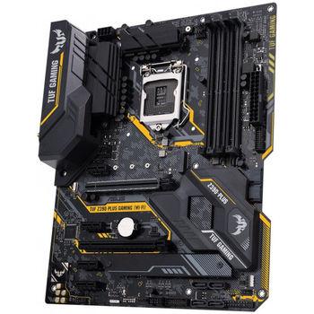 ASUS TUF Z390-PLUS GAMING, Socket 1151, Intel® Z390 (9th/8th Gen CPU), Dual 4xDDR4-4266, 2xPCIe X16, CPU Intel graphics, HDMI, DP, 6xSATA3, 4xPCIe1, RAID, 2xM.2, S1200A HDA, GbE LAN, 2xUSB3.1 Gen 2, 6xUSB3.1, AURA Sync, TUF components, 24/7, ATX