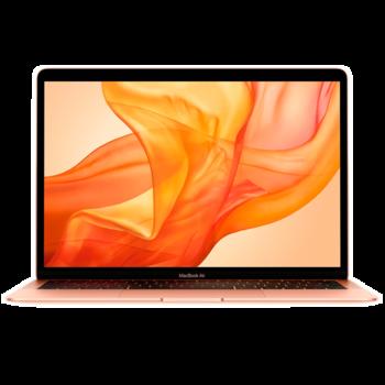 "купить Laptop Apple MacBook Air, 13.3"" Gold, Retina 2560x1600, Intel Core i5-8210Y, 1.6GHz - 3.6GHz, DDR3 8GB, SSD 128GB, Intel UHD 617, 802.11ac, 2xThunderbolt v3 2xUSB3.2-C Alternate Mode, Mac OS Mojave, RU, 50Wh, 1.25Kg (MVFM2) в Кишинёве"