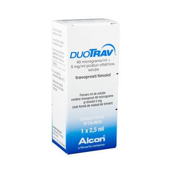 cumpără DuoTrav pic.oft.sol.40mcg+5mg/ml 2,5ml în Chișinău
