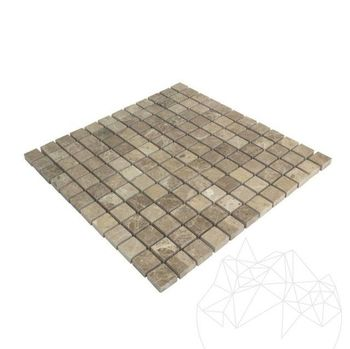 купить Мозаичный мраморный свет Emperador Polisata 2,3 x 2,3 см в Кишинёве