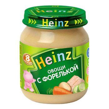 купить Heinz пюре овощи с форелькой 8+мес. 120г в Кишинёве