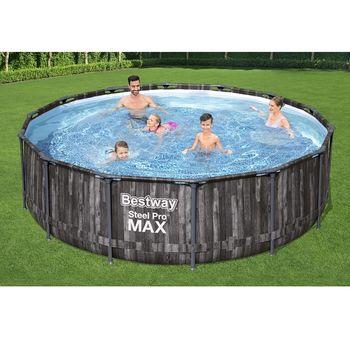 Бассейн Steel Pro Max 427x107cm, 13030Л, метал каркас