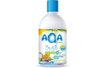 Травяной сбор для купания малышей Бархатная кожа Aqa Baby 300 мл