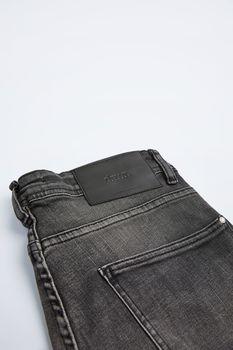 Шорты ZARA Серый джинс 5575/371/802