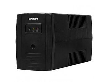SVEN Pro 600 Line-Interactive, 600VA/360W, AVR, Input 175~280V, Output 220V +- 10% (UPS, sursa neintreruptibila de energie/ ИБП источник бесперебойного питания)