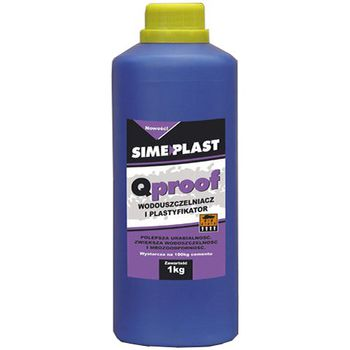 Simeplast Гидроизоляционный пластификатор QProof 1кг