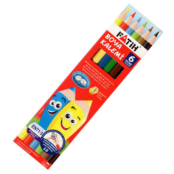 cumpără Creioane color 6cul. Fatih 33106 în Chișinău