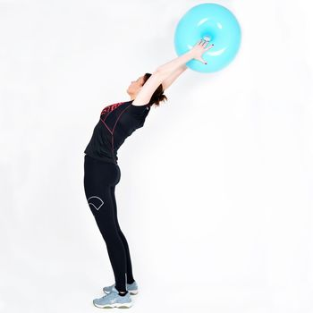 Мяч для баланса Donut Ball d-50cm 7765 (1507)