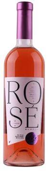 Вино Розовое Мерло полусладкое