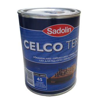 Sadolin Лак Celco Terra 45 Полуглянцевый 1л