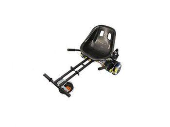 """Skymaster K01 Hoverkart, Black, Universal hoverkart for 6.5"""" / 8"""" / 10"""" Hoverboard"""