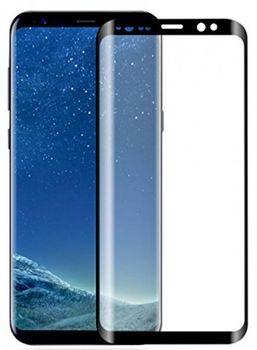 Защитное стекло Cellular Samsung Galaxy A8+ (2018) curved Black
