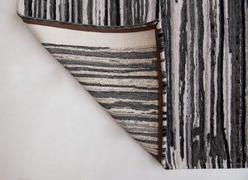 купить Ковёр ручной работы LOUIS DE POORTERE Atlantic Grey Stripes 8630 в Кишинёве