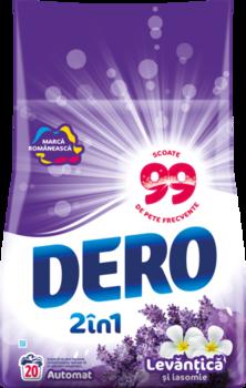 купить Dero Surf Auto  2in1 Лаванда и жасмин, 2 кг. в Кишинёве