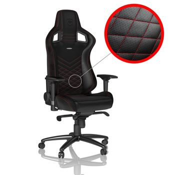 Gaming Chair Noble Epic NBL-PU-RED-002 Black/Red