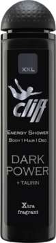 CLIFF - XXL DARK POWER Шампунь-гель для душа Темная сила с таурином 300 мл