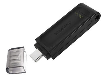 32GB USB Flash Drive Kingston DT70/32GB DataTraveler 70, USB Type-C 3.2 (memorie portabila Flash USB/внешний накопитель флеш память USB)