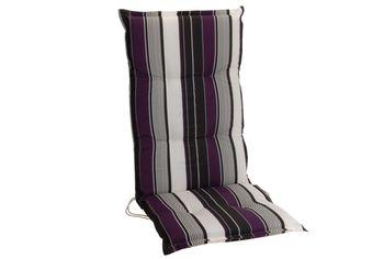 Подушка для стула/кресла H&S 114X46X44cm, влагостойкая, черн