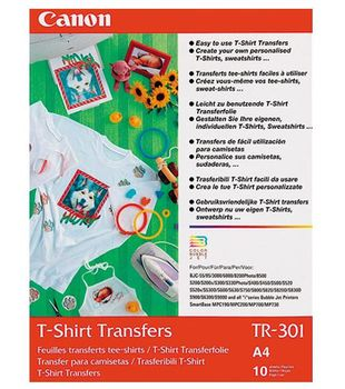 Canon T-Shirt Transfer Material (10 sheets) TR-301