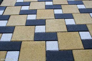 купить Bибропрессованная тротуарная плитка  (200x200x60mm) в Кишинёве