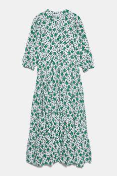 Платье ZARA Принт цветочек 4786/070/251