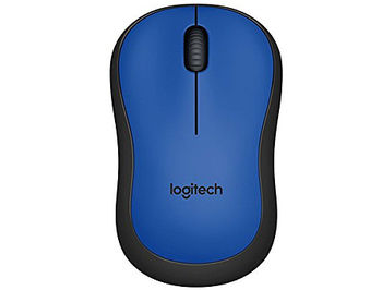 Logitech M220 Silent Blue Wireless Mouse, USB, 910-004879 (mouse fara fir/беспроводная мышь)